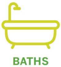 Baths Application Method