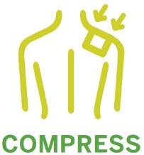 Compress Application Method