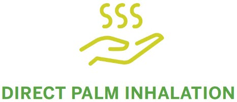 Direct Palm Inhalation Application Method
