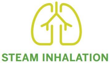 Steam Inhalation Application Method